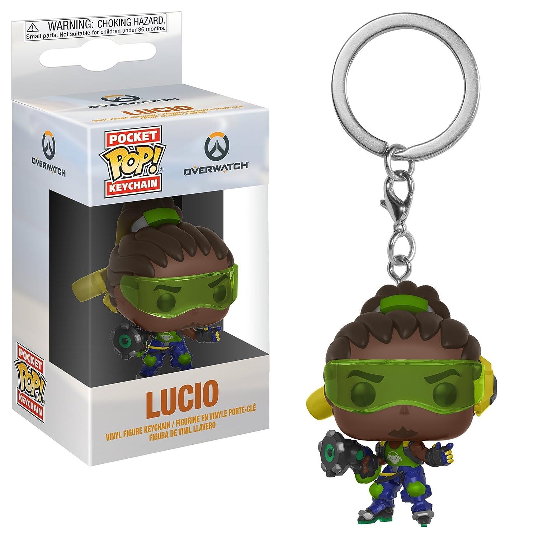 Funko Pop Keychain: Overwatch - Lucio Collectible Figure, Multicolor