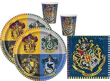 Partyglück Juego de Accesorios de Fiesta Harry Potter 48 ...