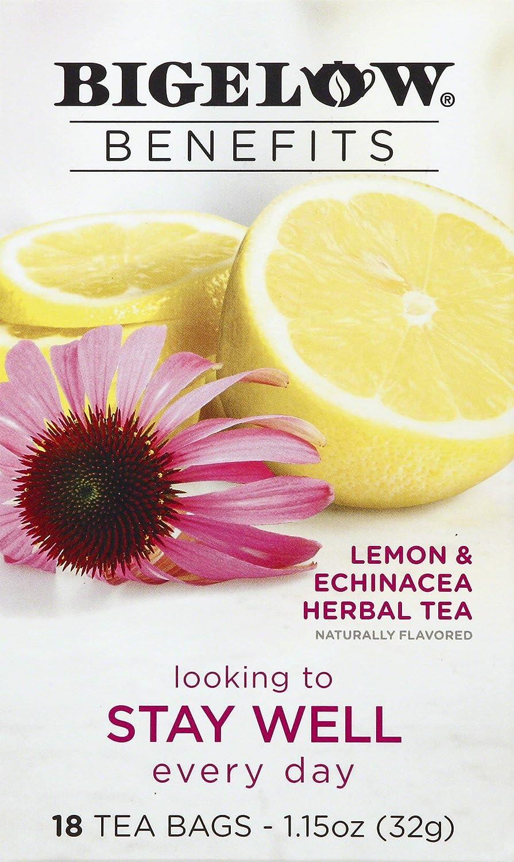 Bigelow Tea Lemon Echinacea, 18 ct