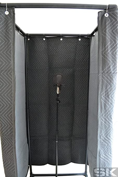Amazon com: SK Vocal Booth - Deluxe Walk-In Sound Recording