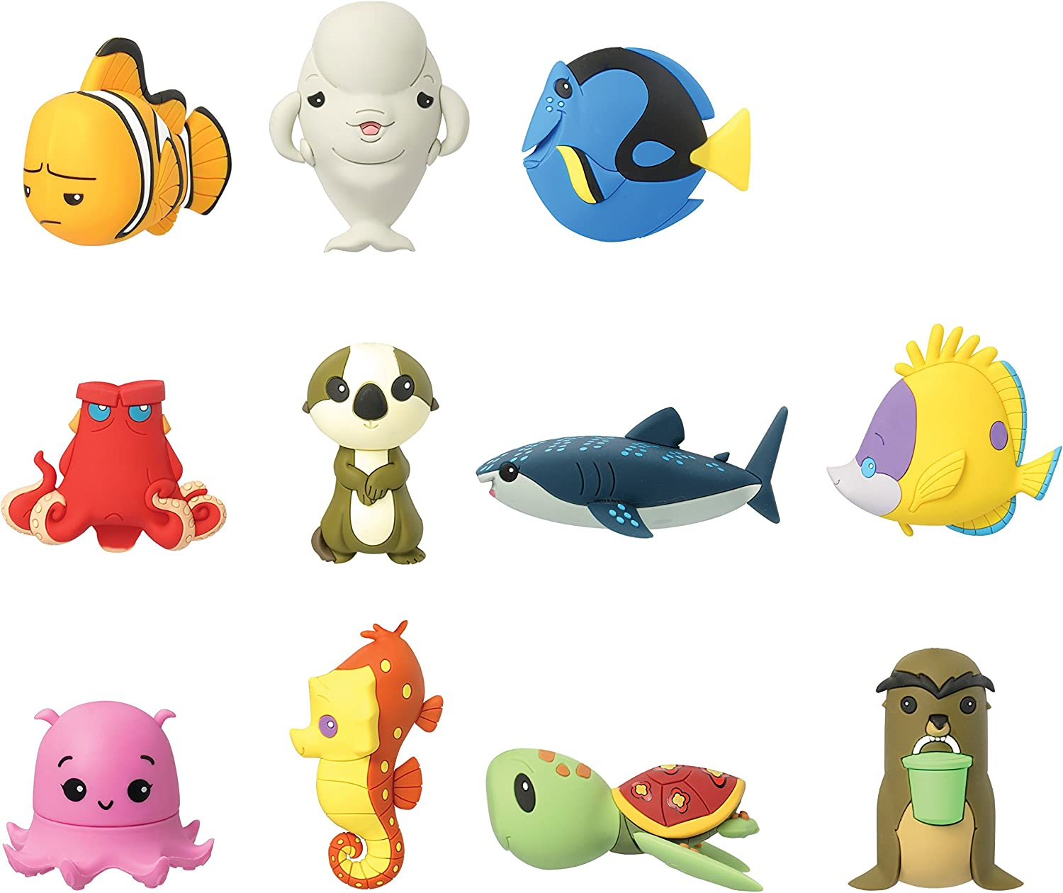 Disney Finding Dory Figural Keyring Series 3 Inch Dory