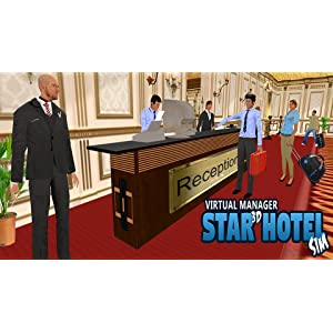 Virtual Manager Star 3D Hotel Sim: Amazon.es: Appstore para Android
