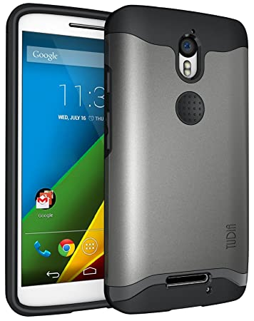 TUDIA Motorola Droid Turbo 2 (Verizon) / Moto X Force Funda, Caja Protectora Slim-Fit Merge de Doble Capa para Motorola Droid Turbo 2 (Verizon) / Moto X ...