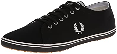 Baskets Fred Perry Kingston Twill Black vmBypU6