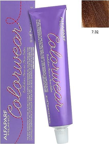Alfaparf Colorwear Medium Golden Violet Blonde 7,32 60 ml ...