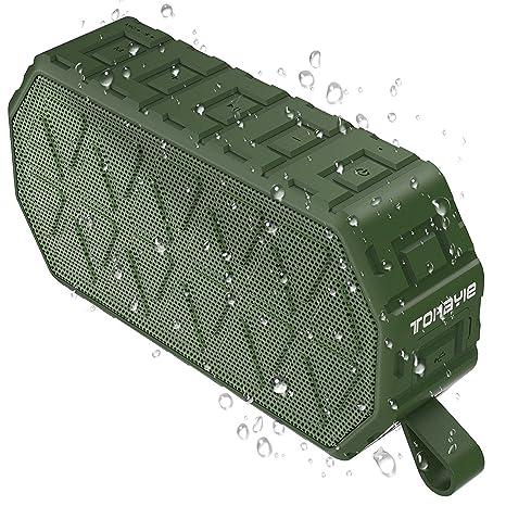 Review Waterproof Bluetooth Speaker, ToHayie