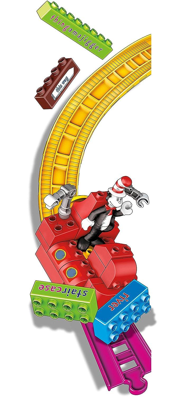 Amazon.com: Mega Bloks Dr. Seuss - OVER THE RIVER THINGAMAJIGGER ...