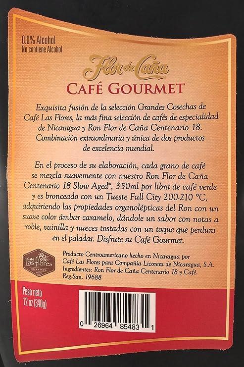 Flor De Caña Cafe Ground Coffee, 12 Ounce Bag - From Nicaragua