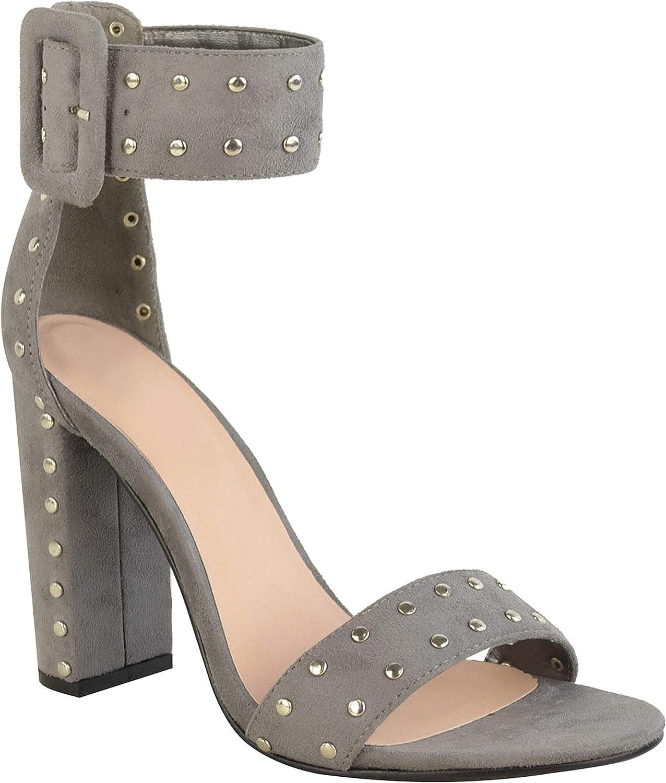 Femme Découpe Lacets Talon Compensé Cheville Spartiates Sandales Chaussures Taille