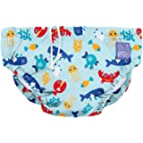 Bambino Mio, Reusable Swim Nappy, deep sea Blue, Extra Large (2+ Years)