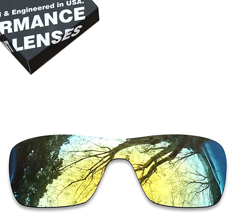 97c65de4db ToughAsNails Polarized Lens Replacement for Oakley Turbine Rotor Sunglass -  More Options
