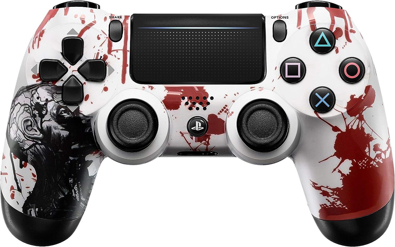 Zombie PS4 Pro Rapid Fire Controlador Personalizado 40 Mods para Todos los Juegos de Disparador, Auto Aim, Quick Scope Sniper Breath (CUH-ZCT2U): Amazon.es: Electrónica