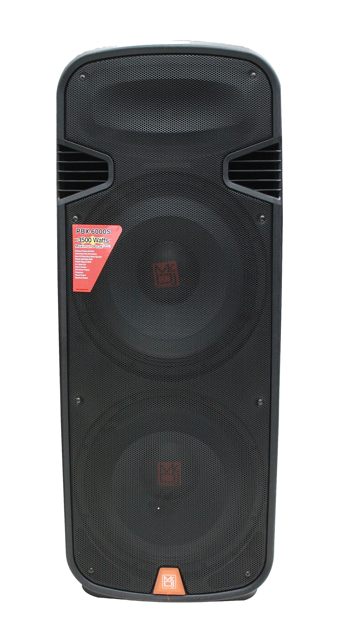 Mr. Dj PBX6000S -Channel PA System