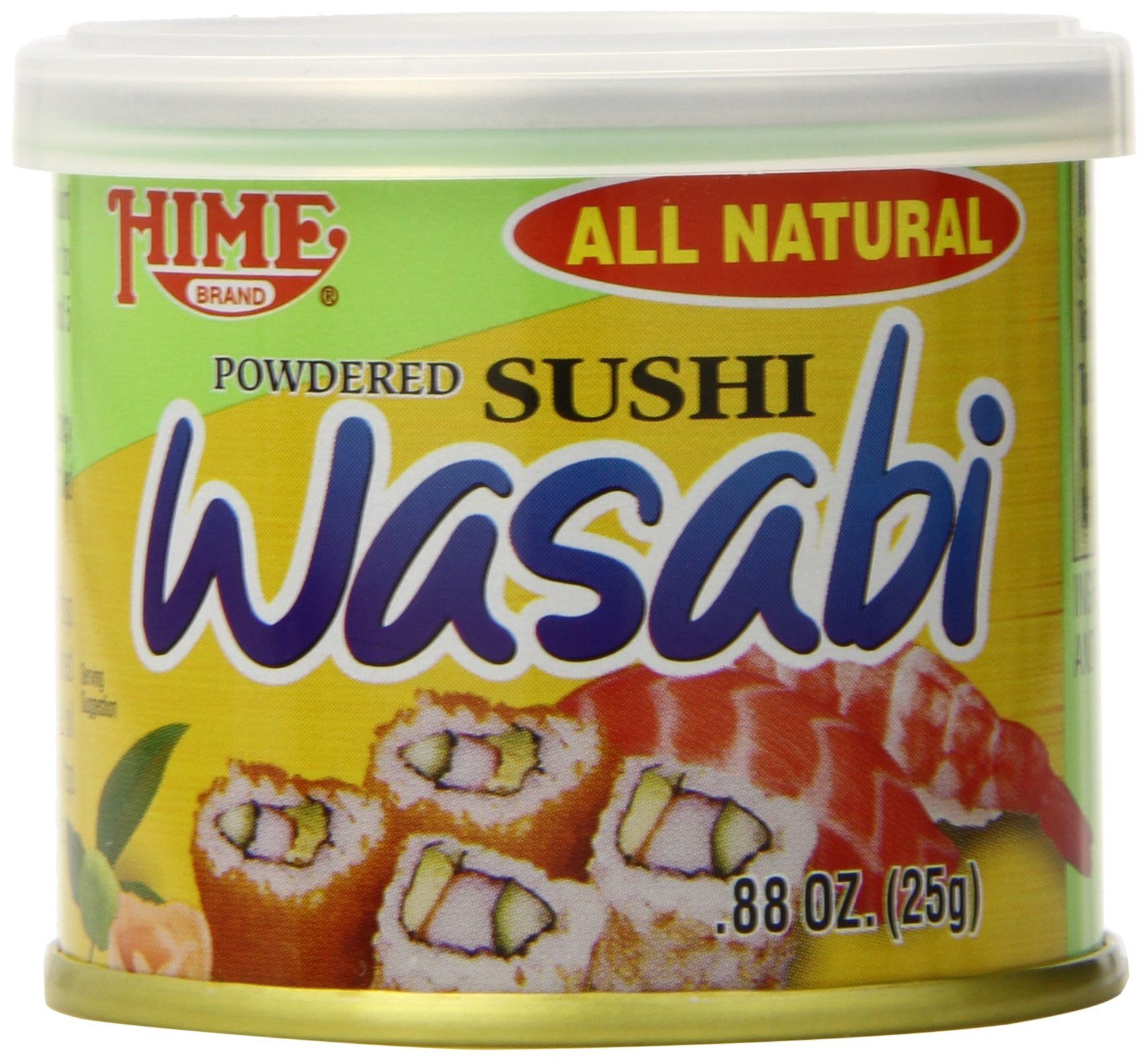Japanese Sushi Wasabi Powder.88-Ounce Cans (Pack of 10)
