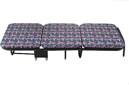 CiaoVasco Cama Plegable con colchón 200 kg Cama para ...