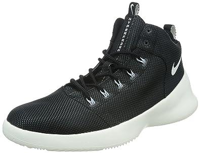 Nike Hyperfr3sh Men Round Toe Canvas Basketball Shoe  B005V2M532
