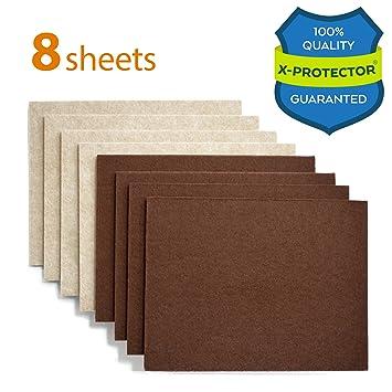 X PROTECTOR Premium 8 THICK 1/5u201d HEAVY DUTY Felt Sheets 5 4