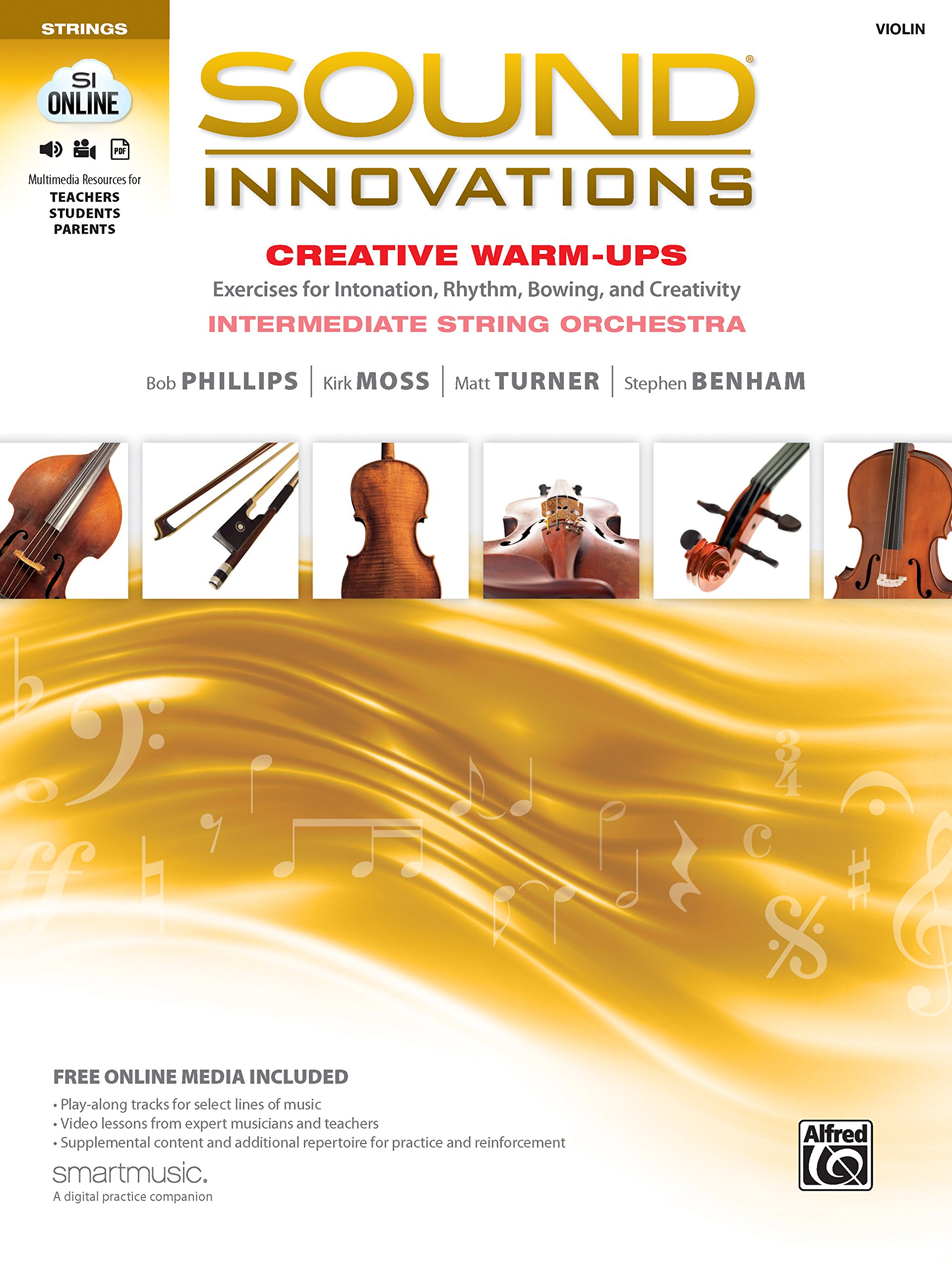 Download Sound Innovations for String Orchestra -- Creative Warm-Ups: Exercises for Intonation, Rhythm, Bowing, and Creativity for Intermediate String Orchestra (Violin) pdf