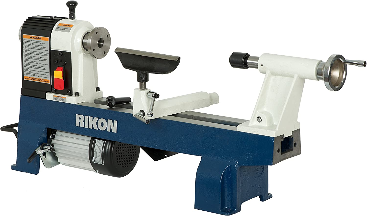 RIKON 70-100 12-by-16-Inch Mini Best Wood Lathe for Turning Bowls