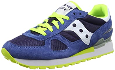 Saucony Shadow Original, Chaussures de Running Homme, Multicolore (Navy 647), 43 EU