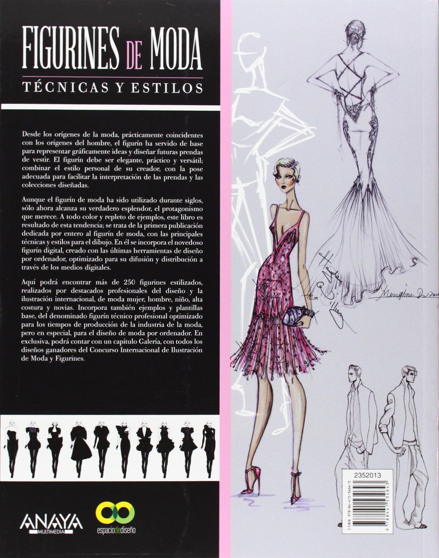 27bfb919a594 Figurines de moda. Técnicas y estilos Espacio De Diseño  Amazon.es  Anna  María López López  Libros
