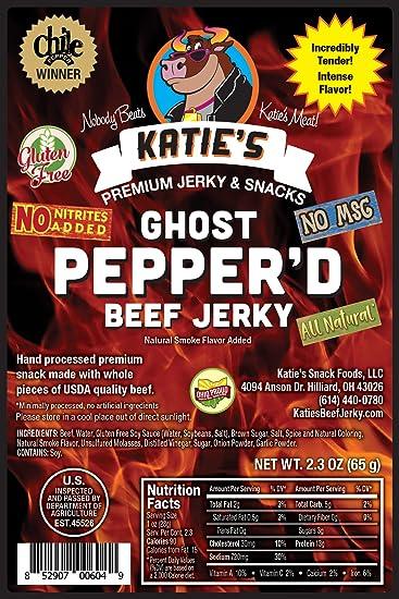 Katies Ghost Pepper'd Beef Jerky