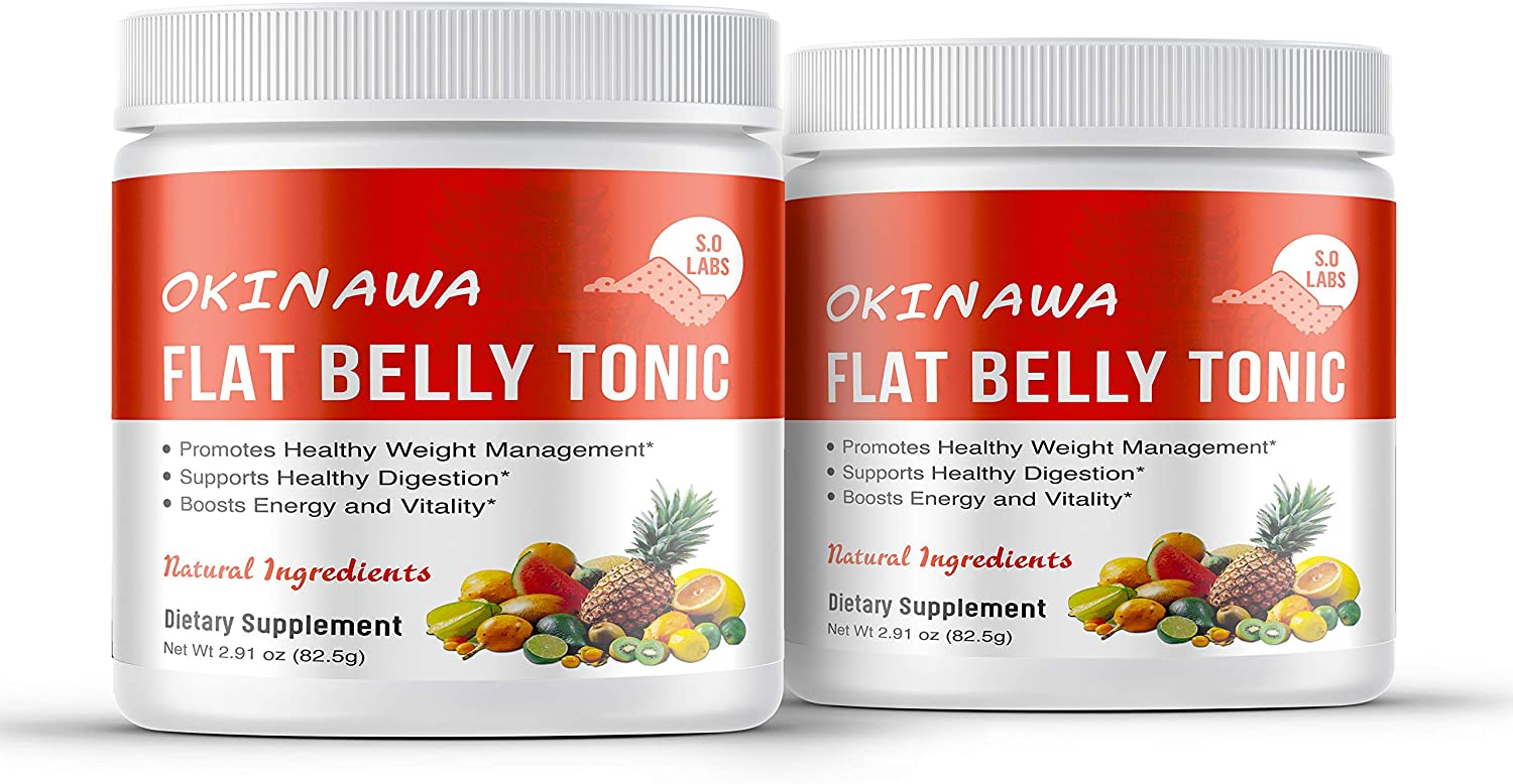 Amazon.com: (2 Pack) Okinawa Flat Belly Tonic: Health & Personal Care