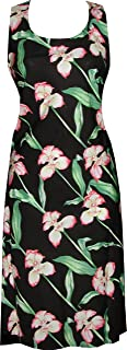 product image for Paradise Found Womens Orchid Panel Short Tank Dress Black XS