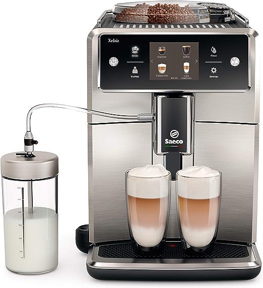 SAECO Xelsis - Máquina espresso Pantalla táctil acero inoxidable ...