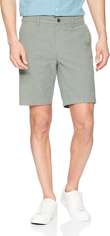 comodi pantaloncini Oxford da uomo interno gamba: 22,9 cm Goodthreads elasticizzati Marchio