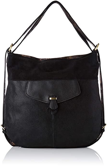 Mila Louise onuphre, bolsas bandolera, Negro (Noir (Noir ...