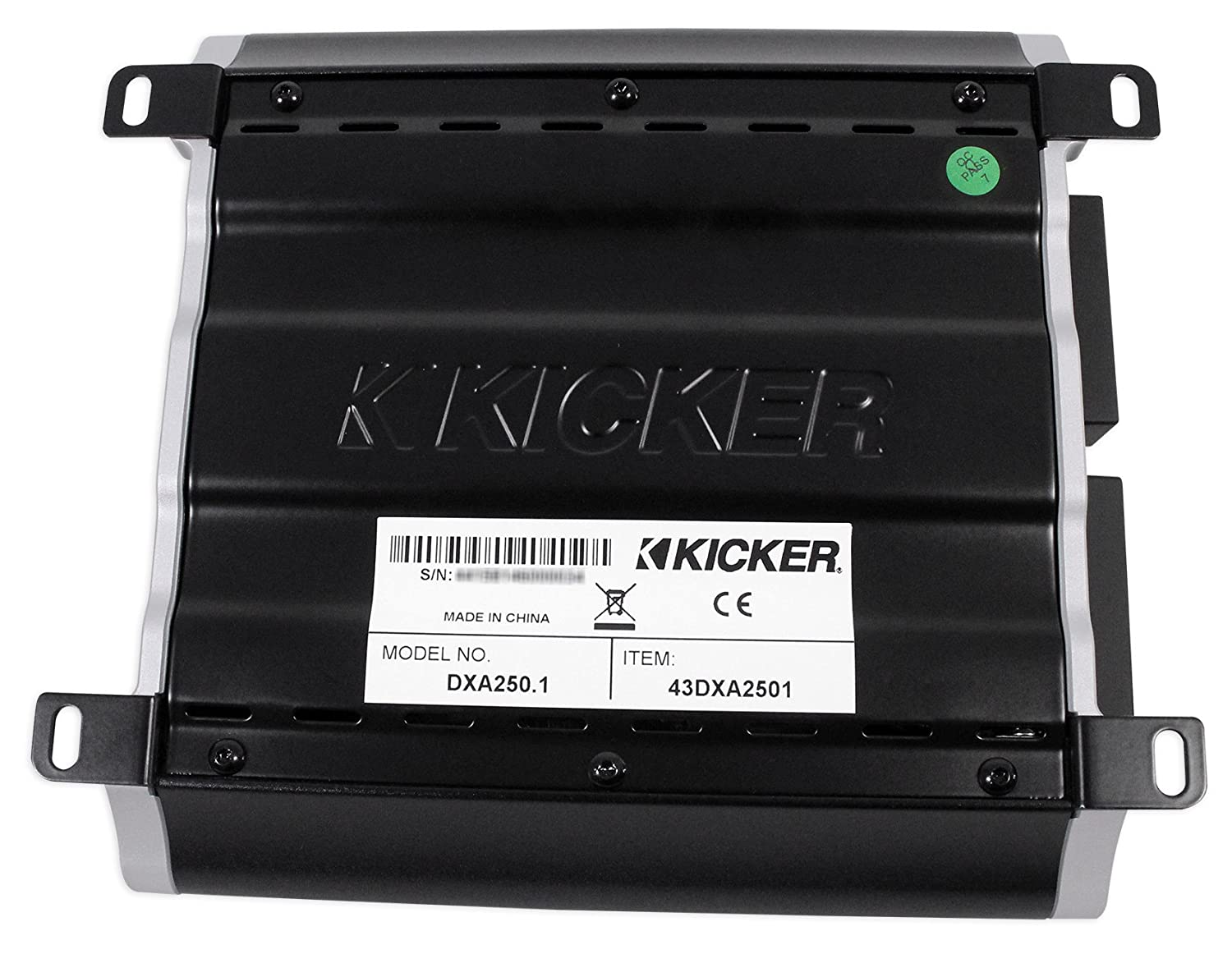 Amazon.com: Kicker 43DXA2501 250 Watt RMS Mono Class D Car Amplifier Amp DXA250.1+Headphones: Car Electronics