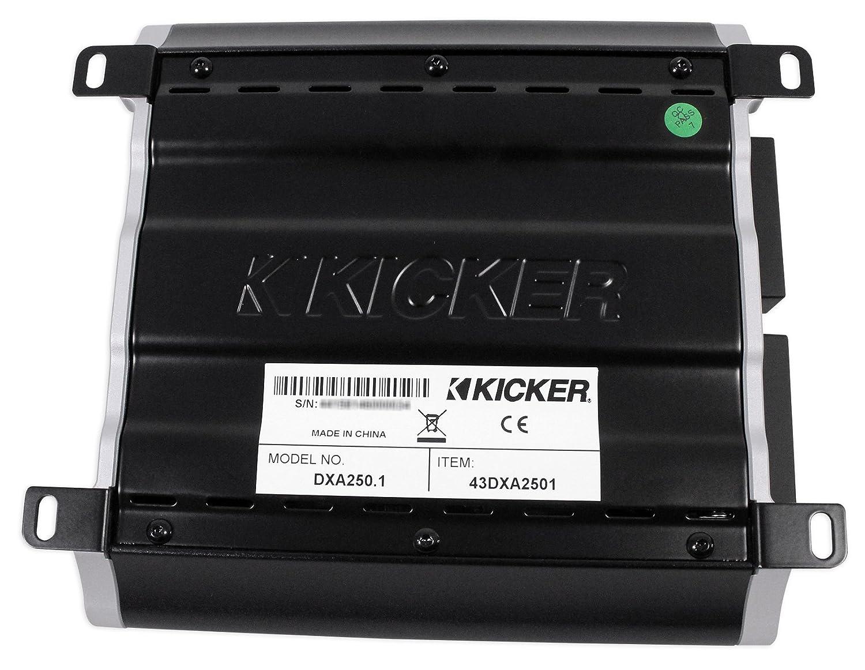 Amazon.com: Kicker 43DXA2501 250 Watt RMS Mono Class D Car Amplifier Amp DXA250.1+Headphones: Car Electronics