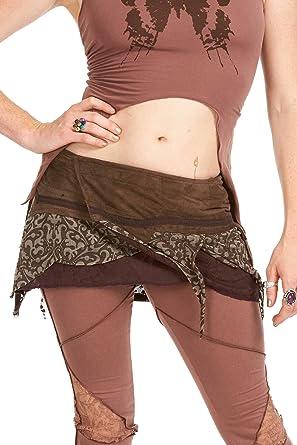Psy Trance Minifalda, Pixie Festival falda, Boho Faery Fae Goa ...