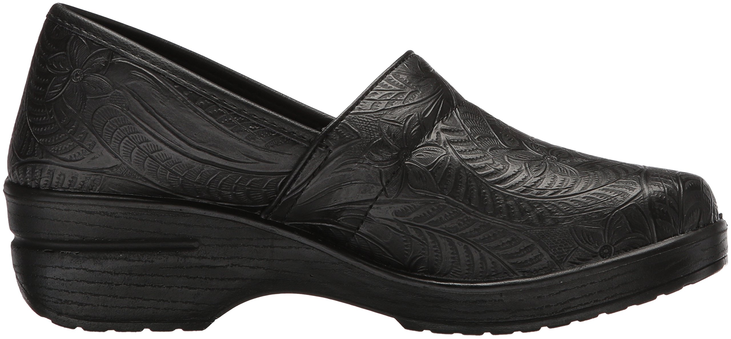 Easy Works Women's Lyndee Health Care Professional Shoe, Black Emboss, 9 W US by Easy Works (Image #6)