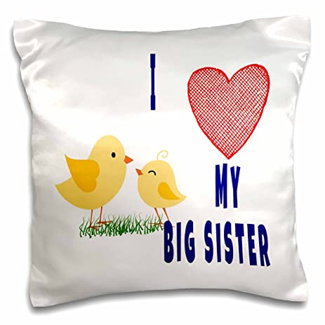 RinaPiro   Sisters Quotes   I Love My Big Sister. Popular Saying.   16x16