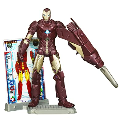 Hasbro Iron Man 2 Concept Series Hypervelocity Armor Iron Man Action Figure #5: Toys & Games