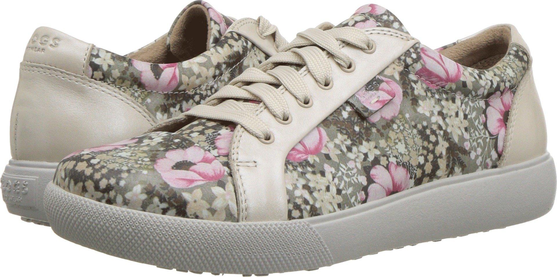 Klogs Footwear Women's Moro Beige Bleary/Petunia 8 M US