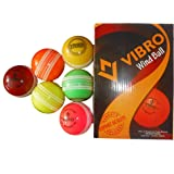 Vibro Heavy Multicolor Wind Ball Pack Of 6