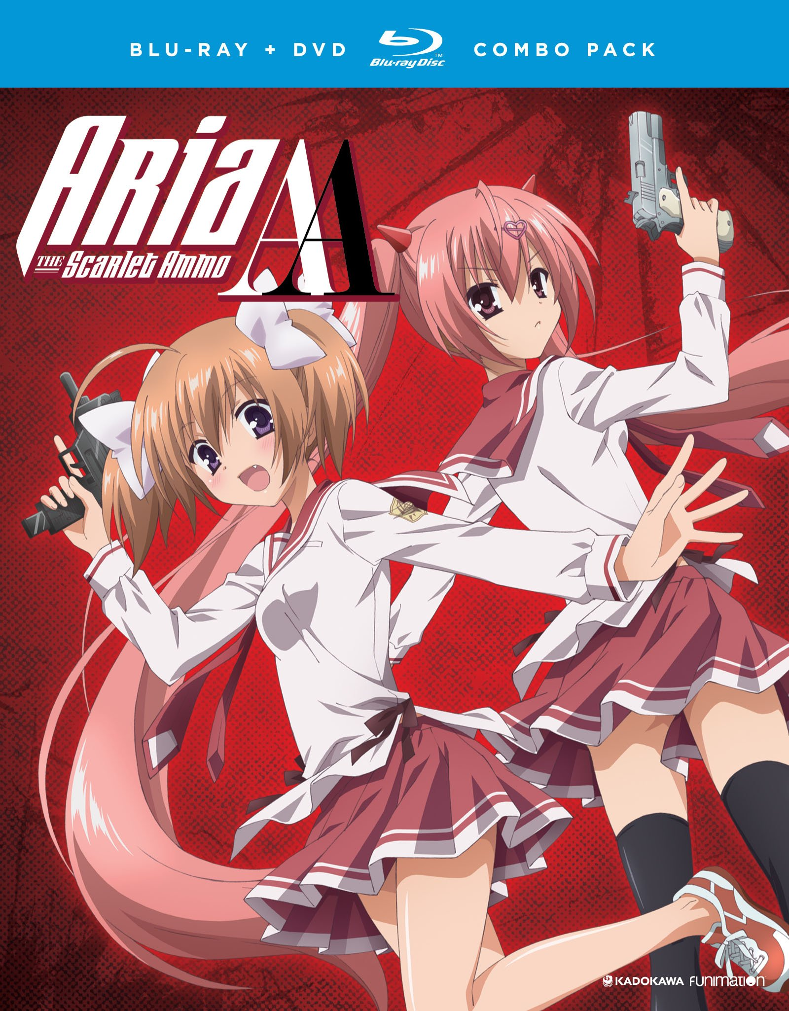Blu-ray : Aria The Scarlet Ammo Aa: The Complete Series (With DVD, , 4 Disc)