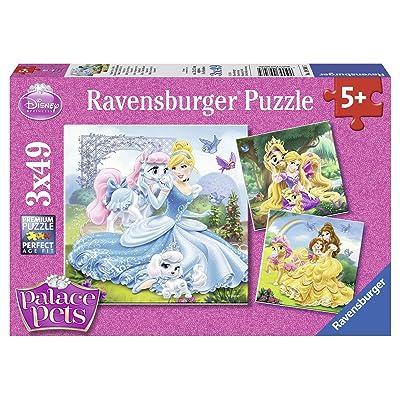 Ravensburger 09346 5 - Puzzle - Belle, Cendrillon et Raiponce - 3X 49 Pièces