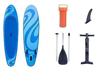 Conjunto Wave para surf de remo (5 piezas) de Ocean Fun, con tabla pala y bomba: Amazon.es: Deportes y aire libre