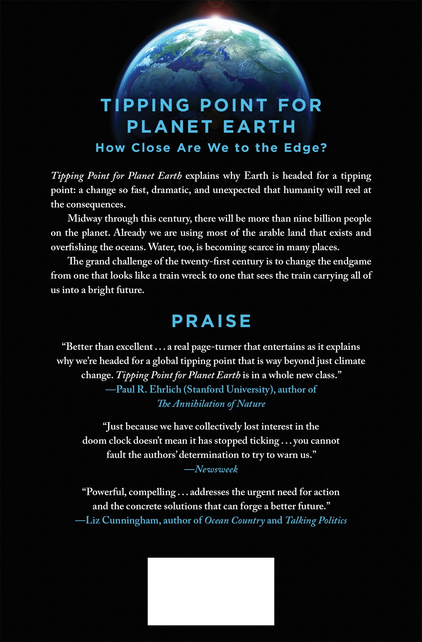 tipping point for planet earth how close are we to the edge tipping point for planet earth how close are we to the edge anthony d barnosky elizabeth a hadly 9781250051158 com books