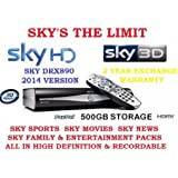 Sky+ HD Digital box drx890 250gb
