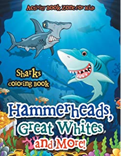 Sharks Coloring Book Dover Nature Coloring Book George Toufexis