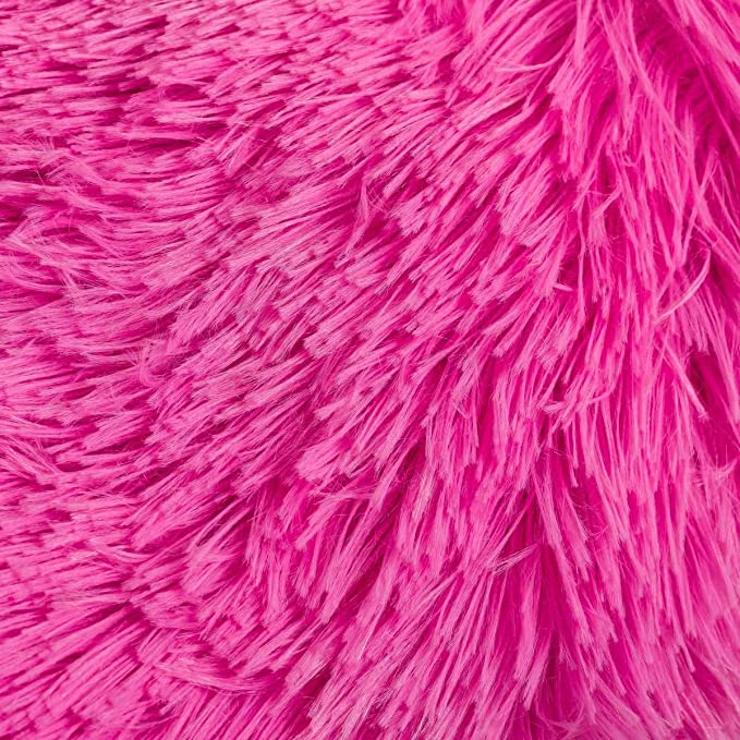 Lola Home Manta de Pelo Rosa de Microfibra Infantil para ...