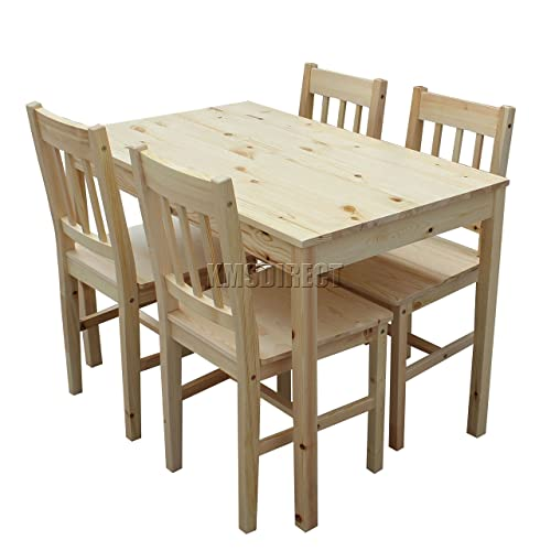 Good Quality Dining Table And Chairs: Wooden Table And Chairs: Amazon.co.uk