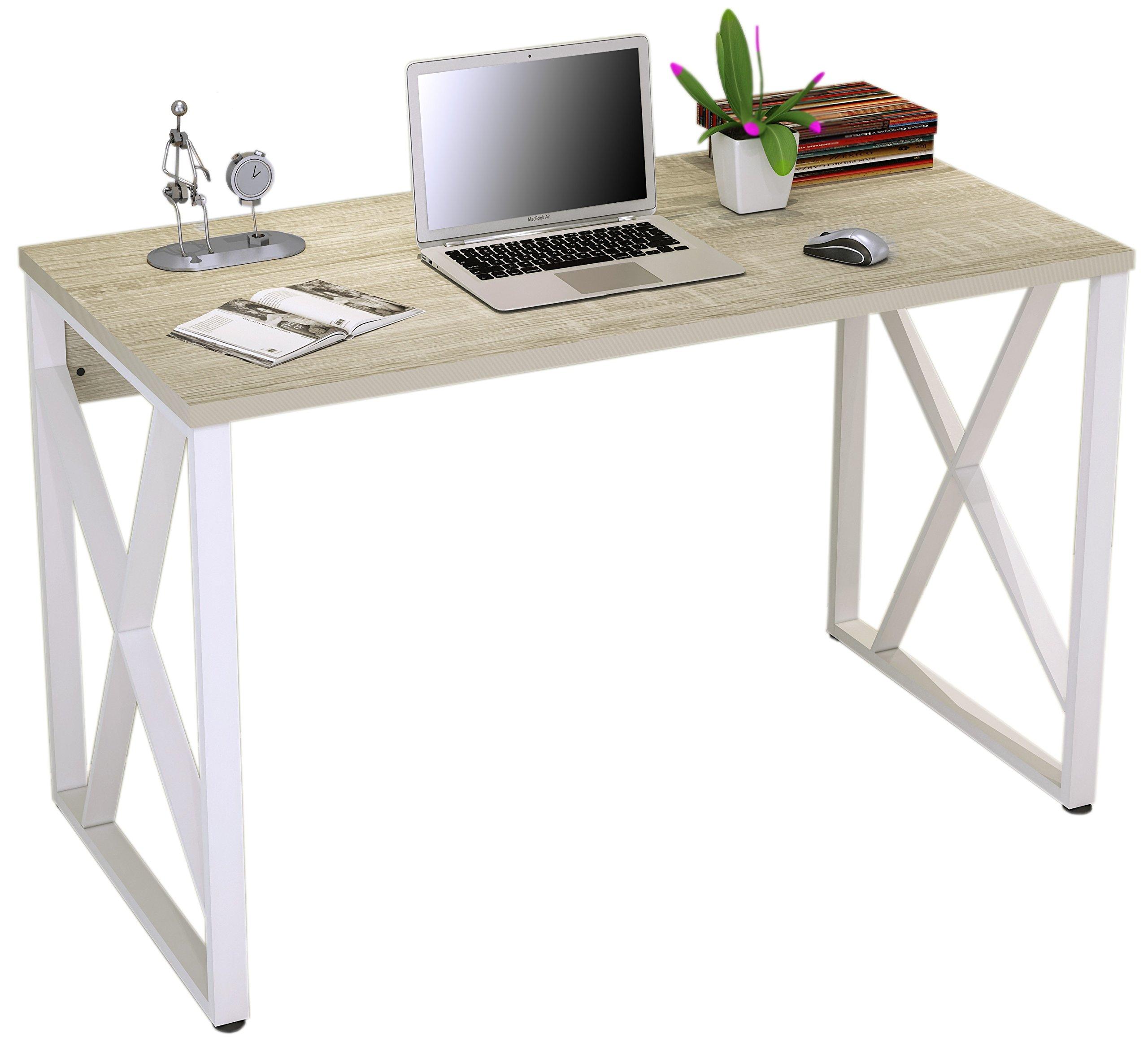 Mesa de ordenador Roble/Blanco Óptica madera S-349/1851 product