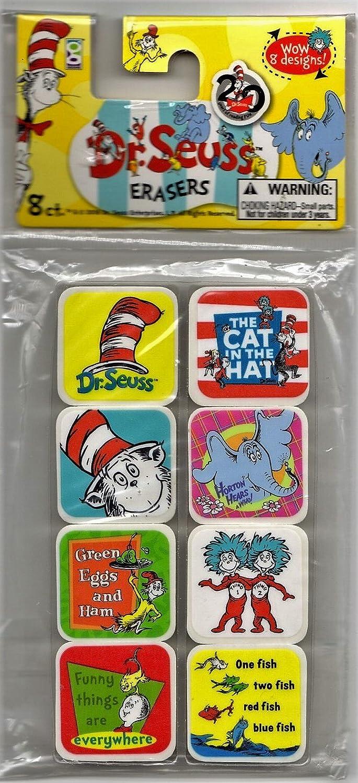 Dr Seuss Erasers Raymond Geddess