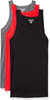 193168ee9e75cf Amazon.com  papi Men s 3-Pack Cotton Square Neck Tank Top  Clothing